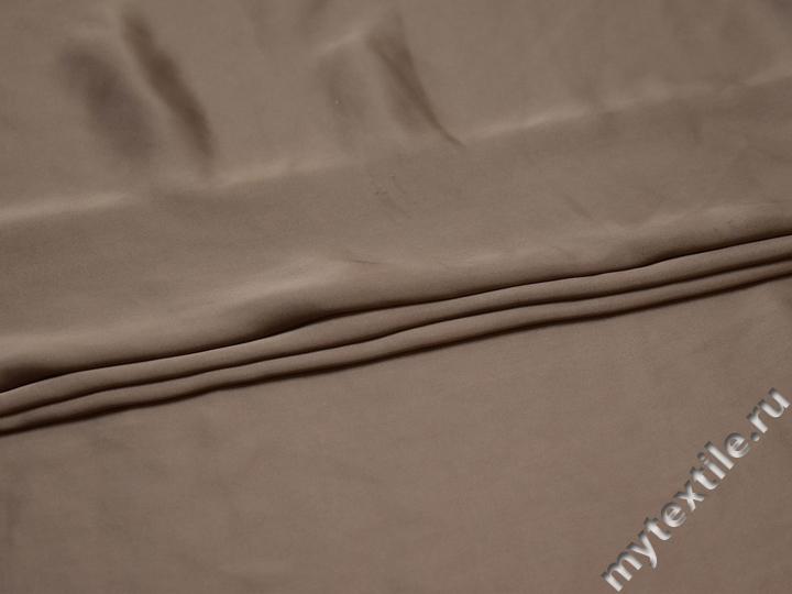 Плательная серая ткань полиэстер БА269