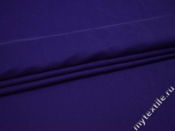 Плательная фиолетовая ткань полиэстер БА263