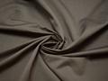 Плательная серая ткань шёлк полиэстер БА262