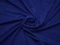 Плательная синяя ткань полиэстер эластан БА266