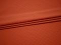 Плательная оранжевая ткань узор полиэстер эластан БА225