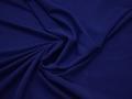 Плательная синяя ткань полиэстер БА223