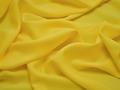 Плательная желтая ткань полиэстер БА220