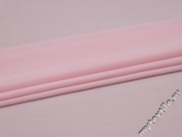Плательная розовая ткань полиэстер БА219