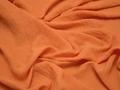 Плательная оранжевая ткань полиэстер БА22
