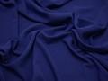 Плательная синяя ткань полиэстер БА173