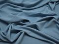 Плательная голубая ткань полиэстер БА2109