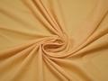 Плательная желтая ткань полиэстер  БВ121