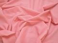 Плательная розовая ткань полиэстер БВ179