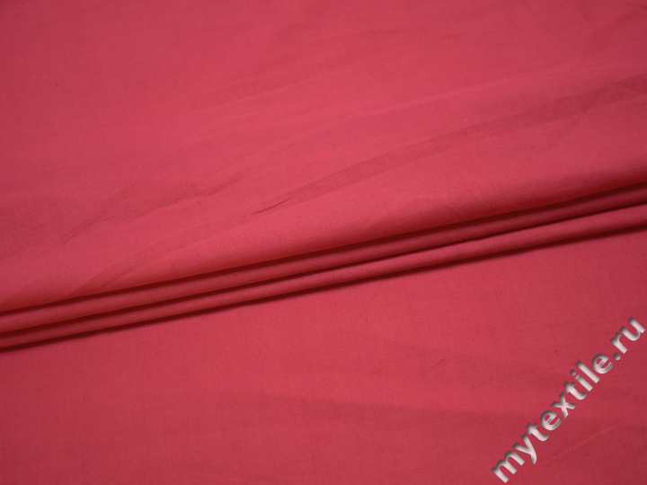 Плательная коралловая ткань полиэстер БВ178