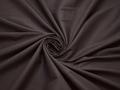 Плательная коричневая ткань хлопок полиэстер эластан БВ176
