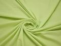Плательная салатовая ткань хлопок полиэстер БВ170