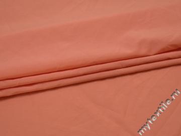 Плательная персиковая ткань вискоза эластан БВ167