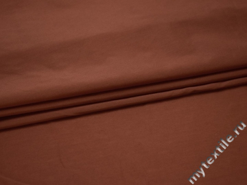Плательная коричневая ткань вискоза БВ165