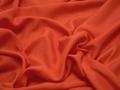 Плательная оранжевая ткань хлопок вискоза БВ127