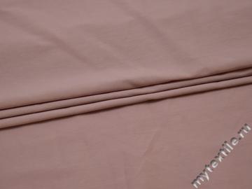 Плательная пудровая ткань хлопок полиэстер БВ174