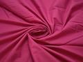 Плательная малиновая ткань хлопок БВ12