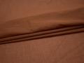 Плательная коричневая ткань хлопок БВ18