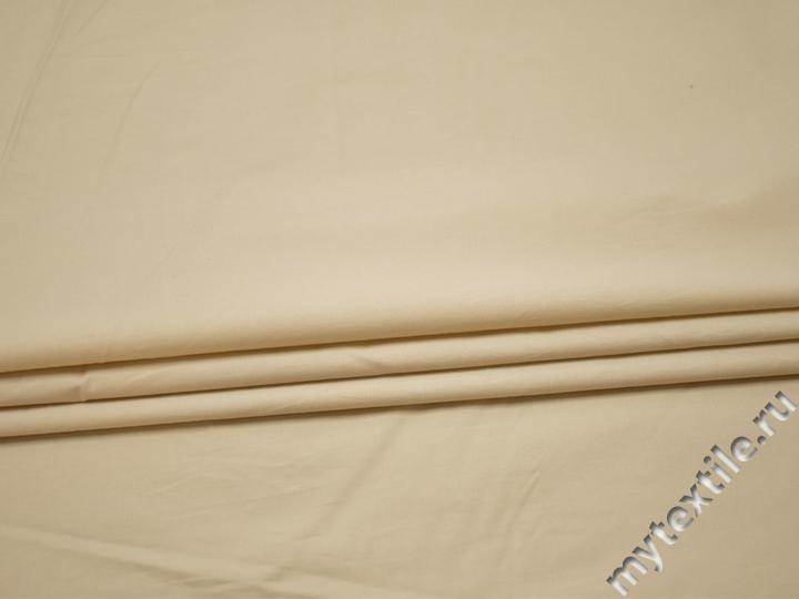 Плательная молочная ткань хлопок БВ118