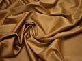 Плательная золотая ткань полиэстер эластан БА33