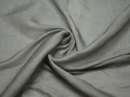 Плательная серая ткань шелк полиэстер БА381