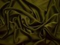 Плательная цвета хаки ткань полиэстер БА367