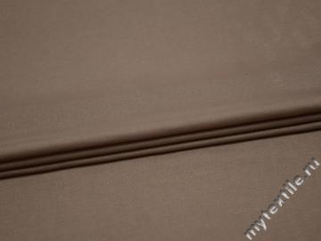 Плательная бежевая ткань вискоза полиэстер БА363