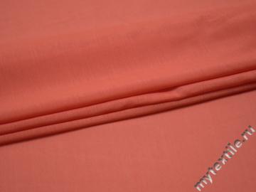 Плательная коралловая ткань полиэстер БА3105