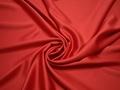 Плательная красная ткань полиэстер БА2110