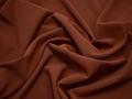Плательная терракотовая ткань полиэстер БА3124