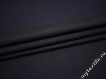 Костюмная фиолетовая ткань шёлк полиэстер хлопок ВГ537