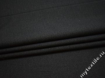 Костюмная тёмно-серая ткань полиэстер ВГ528