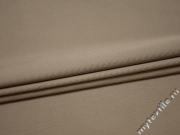 Костюмная серая ткань хлопок эластан ВГ522