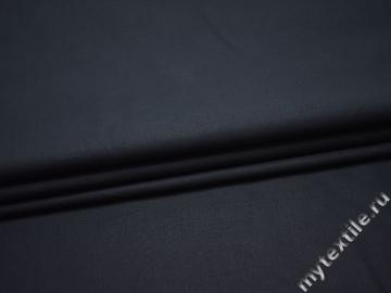 Костюмная синяя ткань вискоза ВГ514