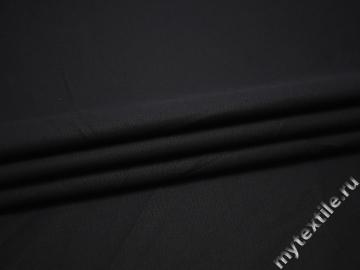 Костюмная темно-синяя ткань вискоза ВГ513