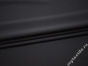 Костюмная синяя ткань полиэстер ВГ453