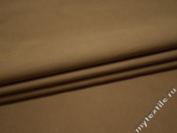 Курточная оливковая ткань хлопок полиэстер БЕ350