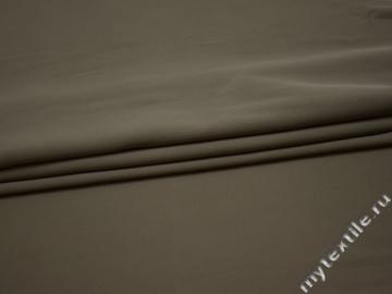 Костюмная серая ткань полиэстер ГГ638