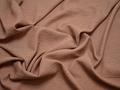 Плательная персиковая ткань вискоза полиэстер БА476