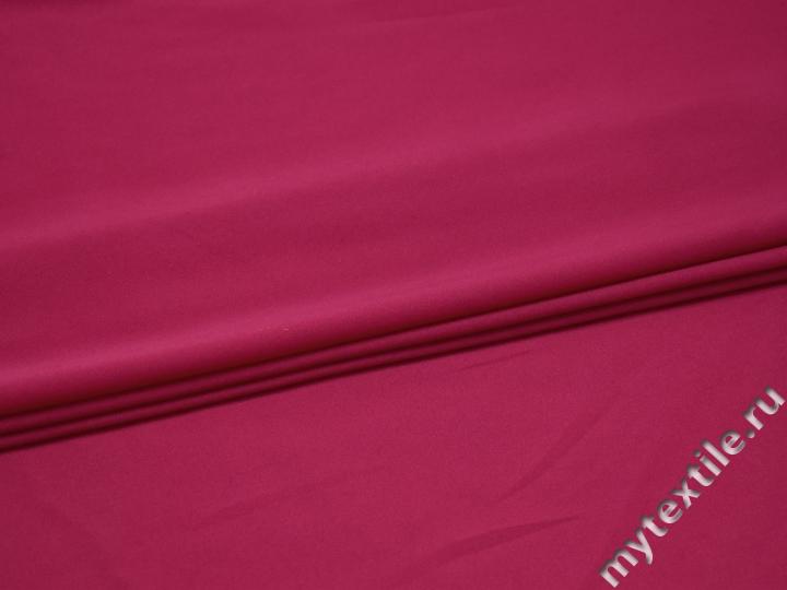 Плательная розовая ткань полиэстер БА176