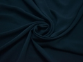 Плательная синяя ткань полиэстер БА390
