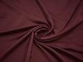 Плательная бордовая ткань полиэстер БА115