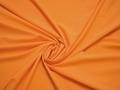 Плательная оранжевая ткань полиэстер эластан БА122