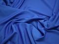 Плательная синяя ткань полиэстер БА354