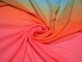 Плательная разноцветная ткань полиэстер ББ42