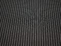 Рубашечная черно-белая ткань полоска хлопок эластан БВ371