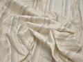 Рубашечная молочная ткань полоска хлопок БВ361