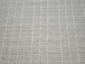 Рубашечная серая ткань полоска хлопок полиэстер БВ331