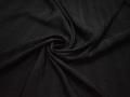 Рубашечная черная ткань полоска полиэстер БВ33