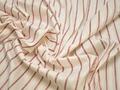 Рубашечная белая ткань полоска хлопок полиэстер эластан БВ313
